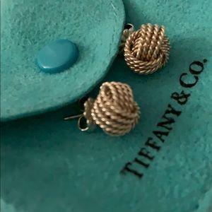 Tiffany & Co. Jewelry - Tiffany mesh knot earring